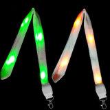 주문 인쇄 LED 번쩍이는 Landyards