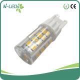 Bulbos 4W 51SMD2835 do Bi-Pin do diodo emissor de luz G9 com tampa do PC