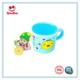 BPA liberano la tazza di plastica dell'acqua con la tazza del latte del coperchio 180ml