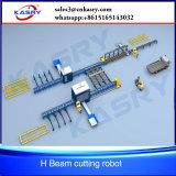 Робот вырезывания плазмы пламени луча h для изготовления стальной структуры