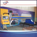 Máquina de chanfradura da estaca de folha do metal da placa de aço do pórtico