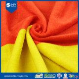 100%年の綿のカスタム反応フラグによって印刷されるビーチタオル
