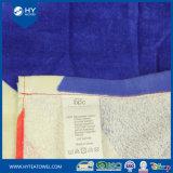 Хлопка изготовленный на заказ реактивным напечатанные флагом полотенца 100% пляжа