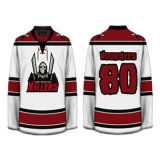 Jerseys de hockey sobre hielo por encargo Sublimation / Tackle Twill / Jersey bordada del hockey