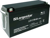 UPS ricaricabile Battery 12V 150ah di Solar Battery