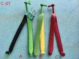 PVC тапочки людей высокого качества верхний связывает верхушку тапочки пляжа (C-07)