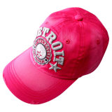 Изготовленный на заказ бейсбольная кепка логоса с хлопко-бумажная тканью