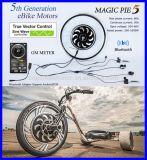 正弦波のコントローラが付いている250W 500W 1000W力の自転車のハブモーターキット