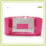 Le meilleur sac cosmétique clair de vente de PVC de la mode 2016 promotionnelle en gros