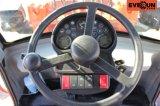 Le CE de marque d'Everun diplômée a articulé le chargeur compact de rouleau de 1.6 tonne