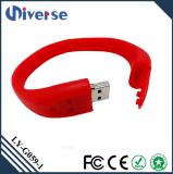 Silikon 2.0 USB-ArmbandWristband USB-Blitz-Laufwerk Pendrive 2GB 4GB 8GB 16GB 32GB 64GB 128GB USB-3.0 preiswertes