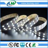 Línea doble tira flexible de la luz estupenda del brillo de SMD 5050 LED