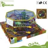Brinquedos para o equipamento do curso de obstáculo do equipamento do parque de diversões dos miúdos
