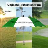 Guarda-chuva de anúncio resistente aberto do golfe do guarda-chuva da chuva & do vento do automóvel Windproof