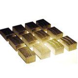 het 1000mm Gegroefte Segment van de Diamant voor Laag van de Steen van het Graniet de Scherpe