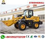 Cargador de las partes frontales cargador Zl30 de la rueda de la construcción de carreteras de 1.8 toneladas