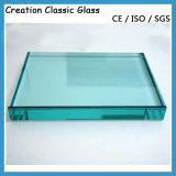 3 mm-19 mm plana / de Bent, Certificado 3c / CE / ISO, vidrio templado, vidrio templado