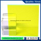 Folha de PMMA, folha acrílica do molde com película do PE ou papel do ofício em ambos os lados