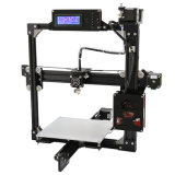 Stampante da tavolino 3D di Fdm del blocco per grafici di alluminio facoltativo di formato della stampa di Anet
