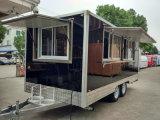 De mobiele Aanhangwagen van de Concessie van de Keuken voor Kebab