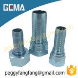 22611 Bspの女性糸のステンレス鋼の油圧ホースフィッティング