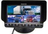 7 монитор индикации цвета квада дюйма TFT-LCD с DVR