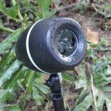 Lumière laser imperméable à l'eau de Noël de qualité pour la décoration extérieure de jardin