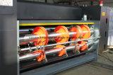 回転式型抜き機械に細長い穴をつけるボール紙の印刷