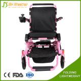 Vier die Rad-Rollstuhl-Anti-Drehen faltbarer kletternder Treppen-Energien-Rollstuhl mit Räder