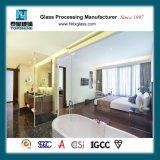 Divisore in vetro della stanza da bagno per la camera da letto dell'hotel