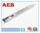 주문을 받아서 만들어진 2017furniture는 강철을 Aeb4504-450mm 스테인리스 볼베어링 서랍 활주를 위해 선형 3개 매듭 냉각 압연했다