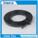 SS316 de Riem van de Kabel van het roestvrij staal met pvc bedekte Zwarte Kleur met een laag