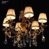 Phine pH-0819m-6 Luz de cristal moderna do candelabro da lâmpada do dispositivo elétrico de iluminação do pendente da decoração de Swarovski dos braços
