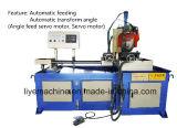 Máquina de estaca automática da tubulação do servo motor com função do ângulo de estaca
