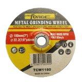 абразивный диск диска подавленный разбивочного металла 180*6*22.2mm истирательный