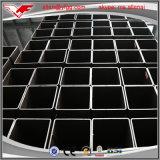 Sección hueco cuadrada material aislante de tubo de acero laminado en caliente de Tubo de la estructura/de Shs