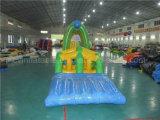 Curso de obstáculo inflável da água da classe comercial para a venda