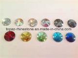 Само ново зашейте на кристаллический каменном Шампань Rivoli зашейте на стеклянном Rhinestone (sW-cchampagne)