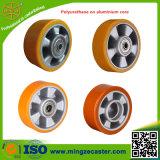 Poliuretano en el Pesado-deber Caster Wheels de Aluminium Core