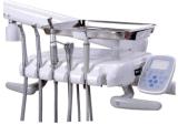 Silla dental de cuero verdadera aprobada vendedora caliente del Ce de la alta calidad