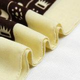 Arbeitsweg-Begleiter-Kaffee-Voile-Elefant gedruckter Schal