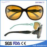 Vidros de tamanho grande polarizados projeto de vinda novos de Eyewear da lente da forma