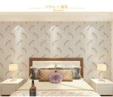 Sala de estar del dormitorio de la tela del papel pintado de la pluma clásica inconsútil del país de Jcc que graba