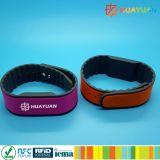 braccialetto classico astuto del Wristband di 13.56MHz MIFARE 1K RFID per forma fisica