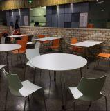 ステンレス鋼のレストランの食堂テーブルおよび椅子