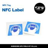 Бумага с покрытием Ntag 215 бирки 13.56MHz NFC