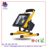 セリウムRoHS Waterproof 5hrs Portable Rechargeable 20W LED Flood Light