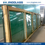 Vidrio de flotador claro para el vidrio de la puerta del vidrio de ventana de cristal del cuarto de baño