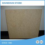 Mattonelle di marmo beige della Silvia per la parete e la pavimentazione