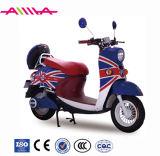 De uiterst kleine Elektrische Motorfiets van het Type met AchterDoos